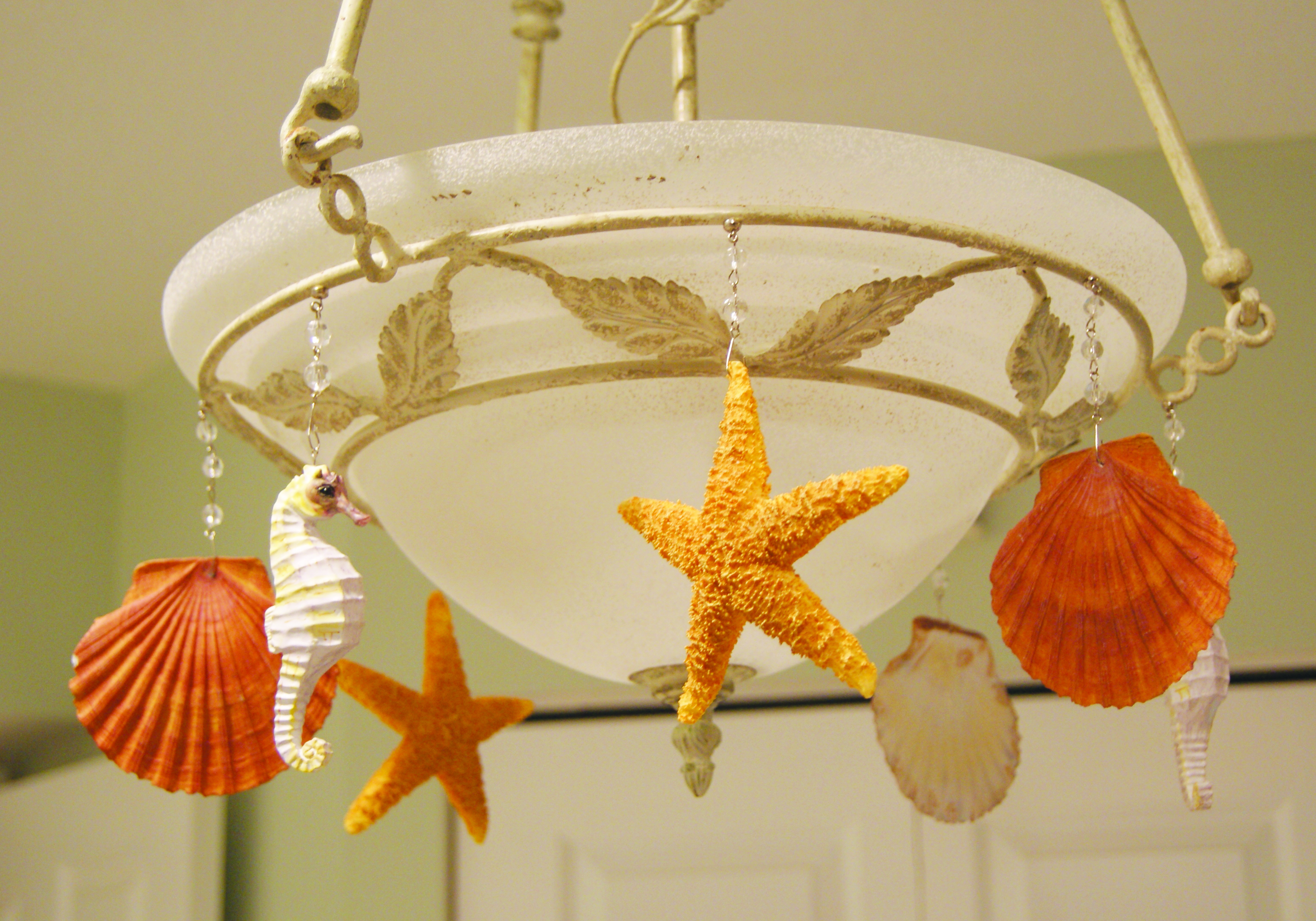 Seasonal ornaments design gallery magnetic chandelier crystals shop the look mozeypictures Gallery